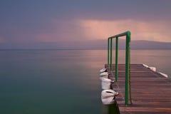 Lago Ohrid Fotos de archivo