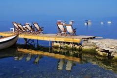 Lago Ohrid Immagine Stock