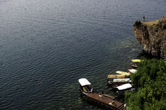 Lago Ohrid Immagini Stock