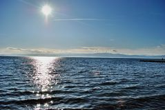 Lago Ohrid Fotos de Stock Royalty Free