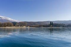 Lago Ohrid Lo SV Naum Fotografia Stock Libera da Diritti