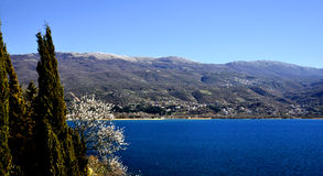 Lago Ohrid, Macedónia Foto de Stock