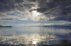 Lago Ohrid, Macedonia immagine stock libera da diritti