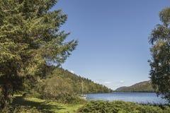 Lago Oich en Escocia Fotografía de archivo