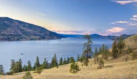 Lago Okanagan Fotografía de archivo libre de regalías