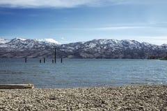 Lago Okanagan Immagini Stock