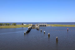 Lago Okeechobee Immagine Stock