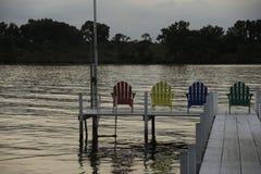 Lago Okoboji fotografia stock libera da diritti