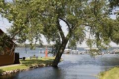 Lago Okoboji nello Iowa Fotografia Stock