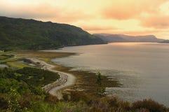 Lago oleocalcáreo Fotografía de archivo libre de regalías