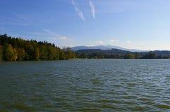 Lago Olesna Imagenes de archivo