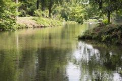 Lago ondulado Foto de archivo libre de regalías