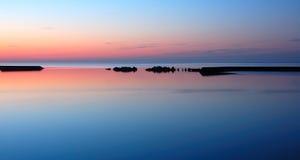 Lago Ontario all'alba Fotografia Stock Libera da Diritti