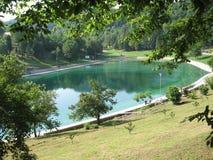 Lago Orahovica Imagens de Stock