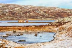 Lago Orkel, Noruega imagem de stock