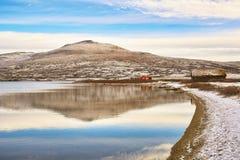 Lago Orkel, Norvegia immagine stock libera da diritti