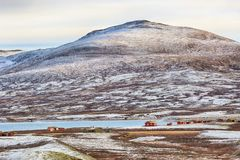 Lago Orkel, Norvegia immagine stock