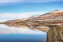 Lago Orkel, Norvegia fotografia stock
