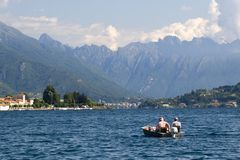 Lago Orta Imagens de Stock Royalty Free