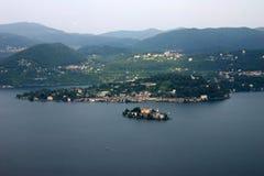 Lago Orta Imagenes de archivo