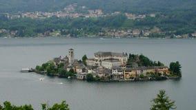 Lago Orta Fotos de archivo libres de regalías