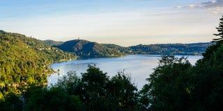 Lago Orta Fotografia Stock Libera da Diritti
