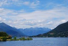 Lago Orta, Italia Imagen de archivo