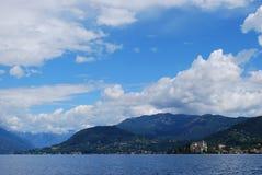 Lago Orta, Italia Fotografia Stock