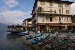 Lago Orta, Orta san Giulio Fotografia Stock