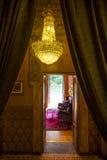 Lago Orta, Piemonte l'Italia 27 luglio - 2013 Interno di lusso dell'hotel Fotografia Stock Libera da Diritti