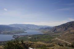 Lago Osoyoos, sur de Britsh Colombia, Canadá Foto de archivo libre de regalías