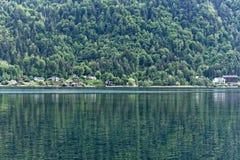 Lago Ossiach en Austria Fotos de archivo libres de regalías