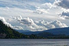 Lago Ossiach en Austria Foto de archivo libre de regalías