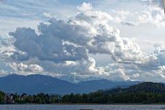 Lago Ossiach en Austria Imágenes de archivo libres de regalías