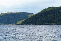 Lago Ossiach en Austria Imagen de archivo