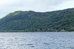 Lago Ossiach en Austria Fotografía de archivo