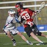 Lago Oswego V Claremont lacrosse Fotografía de archivo libre de regalías