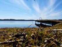 Lago otter Foto de Stock