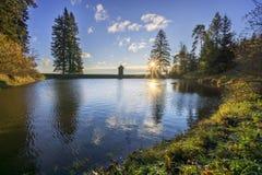 Lago Ottergrund Fotografia Stock Libera da Diritti