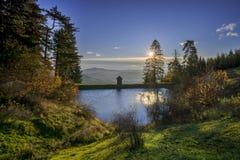 Lago Ottergrund Fotografie Stock Libere da Diritti