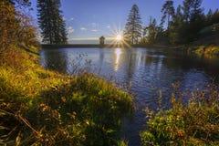 Lago Ottergrund Fotografia Stock
