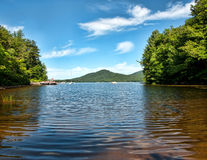 Lago Oxbow Imagen de archivo libre de regalías