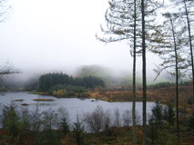 Lago País de Gales del norte, ario de Bwlch Nant Fotografía de archivo