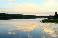 Lago pacífico Fotos de archivo