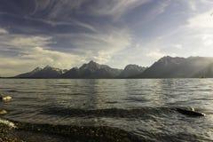 Lago pacífico imagen de archivo