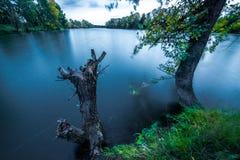 Lago pacifico fotografia stock