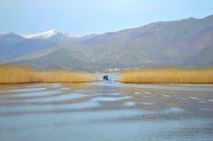 Lago pacifico fotografie stock