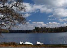 Lago pacifico Immagine Stock