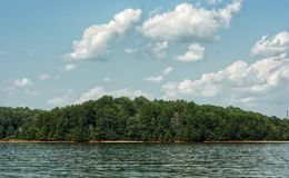 Lago pacifico Immagini Stock Libere da Diritti