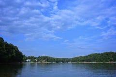 Lago pacifico mountain Immagine Stock
